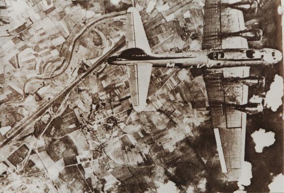 B17 bombarda Foggia