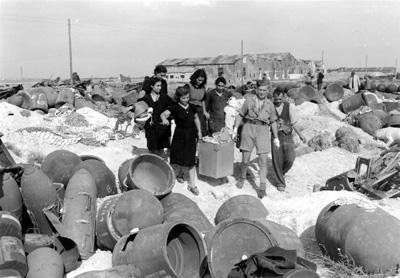 Base tedesca a Foggia bombardata
