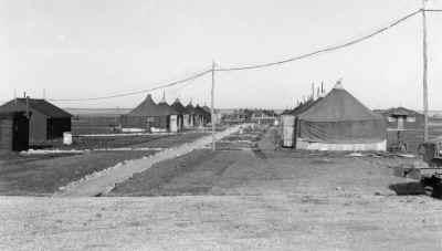 abitazioni dei militari all'aeroporto di lesina