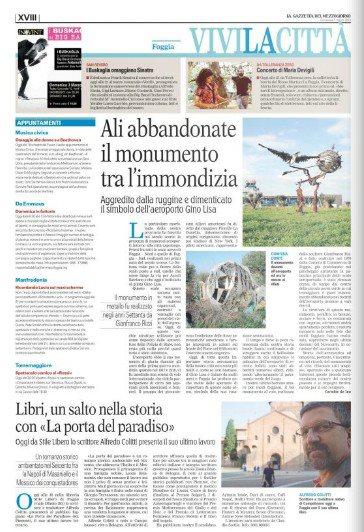 Gazzetta del Mezzogiorno del 3 marzo 2013